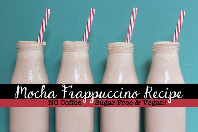 Vegan Mocha Frappuccino Recipe - Sugar Free
