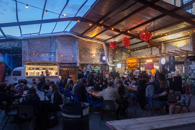 Street Feast, Dalston Yard.