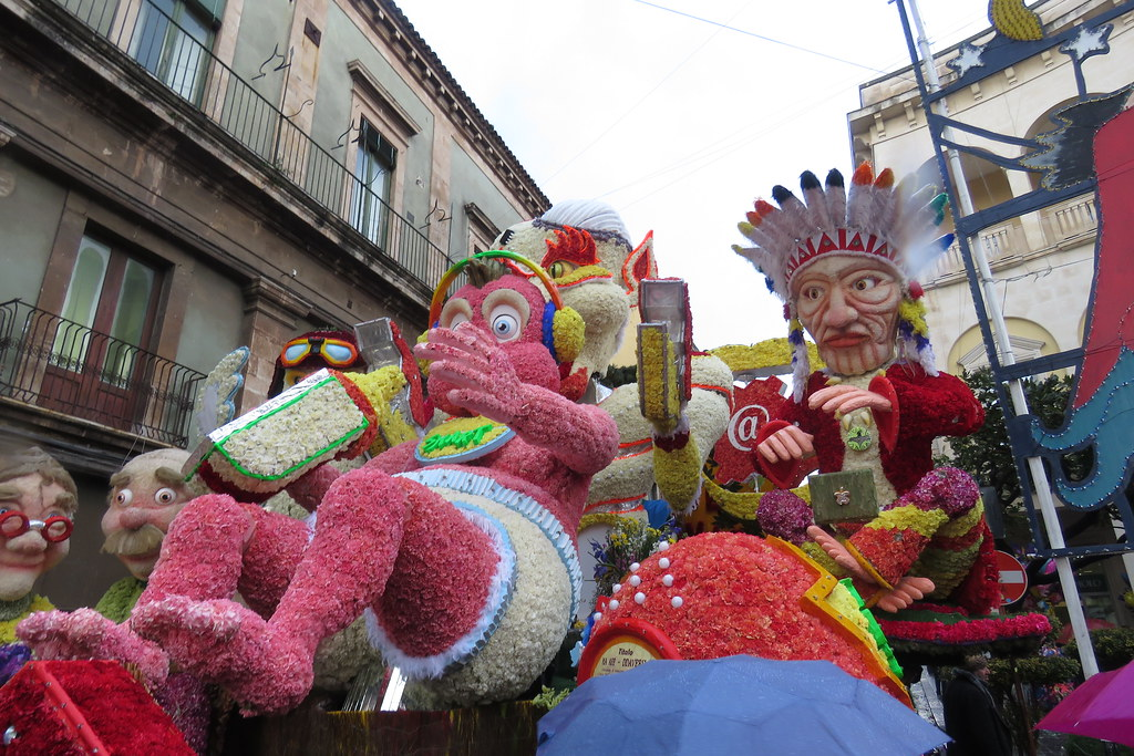 Carnevale Acireale Sicily Italy 60