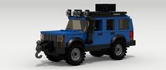 Jeep Cherokee (lifted)