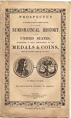 Daniel Groux's prospectus for Numismatical History