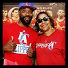 We at game 4 #happymothersday #ClipperNation by thugramsey