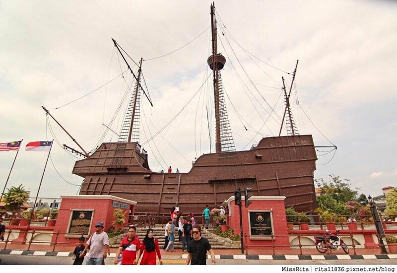 馬來西亞 麻六甲 馬六甲景點 荷蘭紅屋廣場 聖保羅堂St. Paul's Church 馬六甲蘇丹王朝水車 海上博物館38