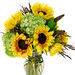 Sunflowers Photo by — Leanne and David Kesler, Floral Design Institute, Inc., in Portland, Ore.