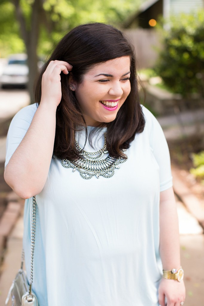 Head to Toe Chic, BaubleBar bib necklace