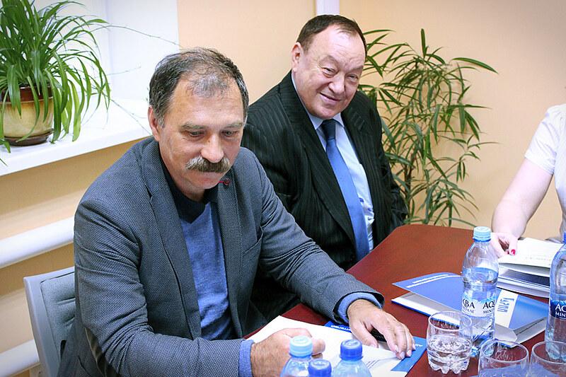 Руководство АРПП: Дмитрий Мартынов, Александр Оськин