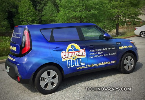 Orlando car wrap by TechnoSigns