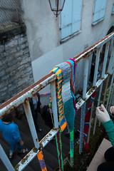 Yarn bombing Besançon 15