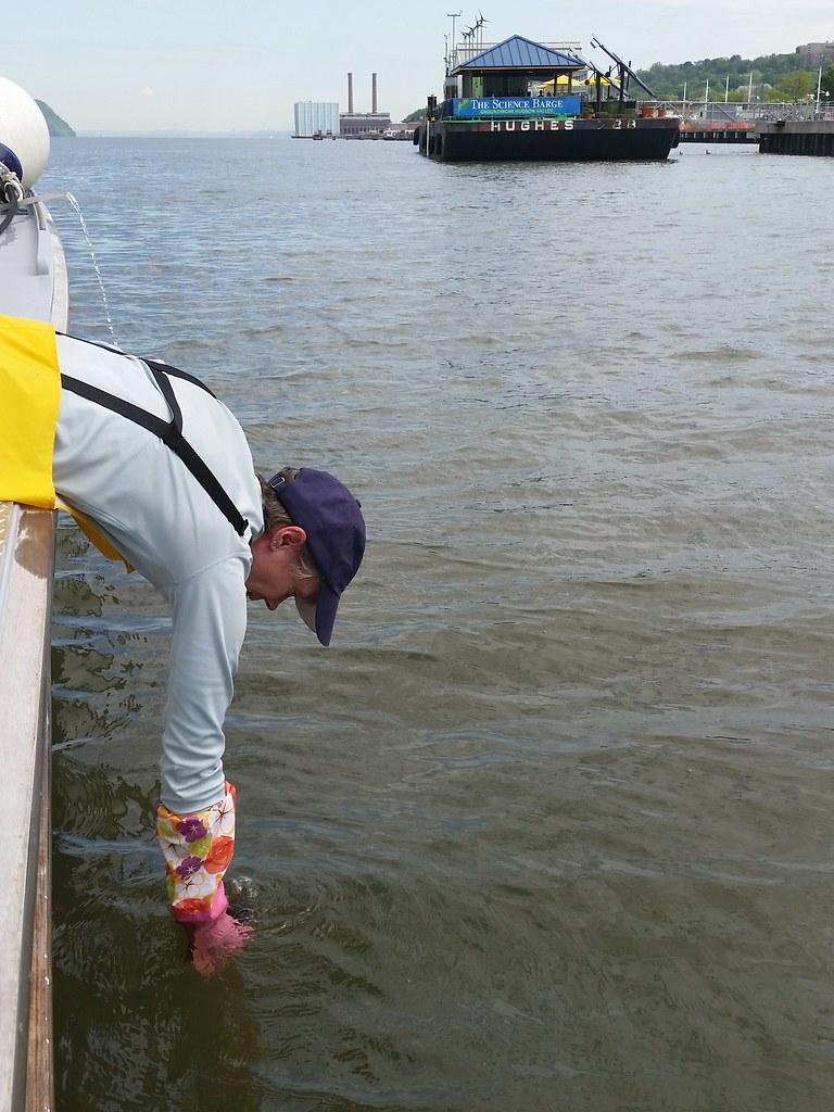 May 2016 Water Quality Sampling | Carol Knudson of Lamont-Do