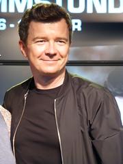 Rick Astley at Saturn Hamburg 2016
