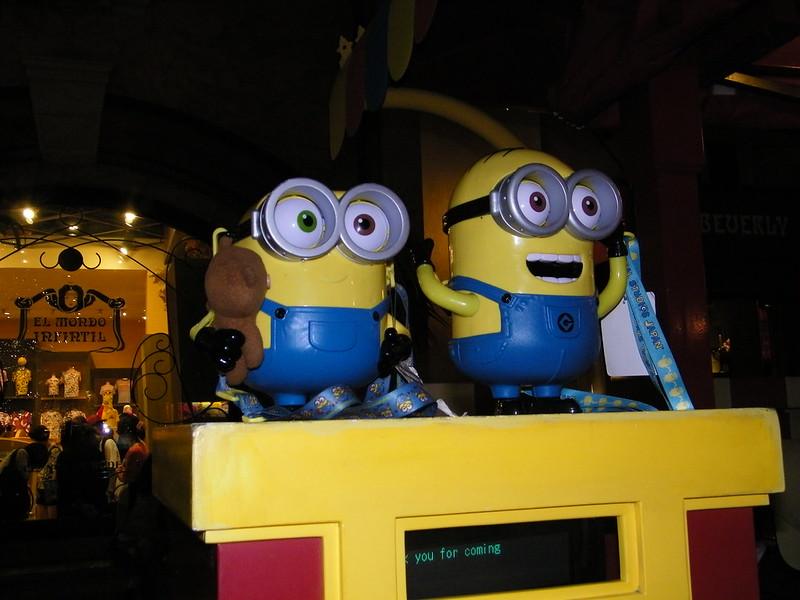 minions popcorn buckets