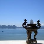 Ocean view from Cái Bầu Pagoda.