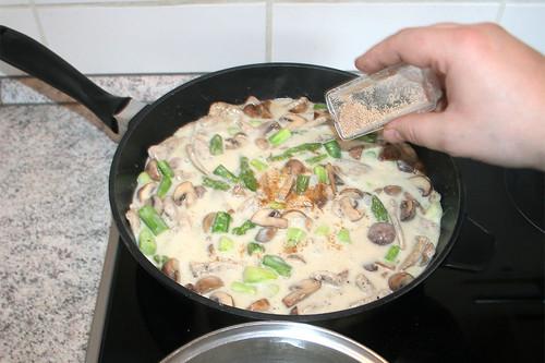 37 - Mit Pfeffer,Salz & Muskatnuss abschmecken / Taste with salt, pepper & nutmeg