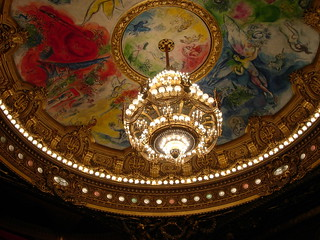 Chagall's ceiling of the Paris Opera House
