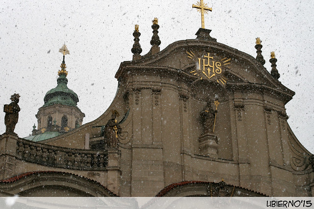 Snowing on St. Nicholas