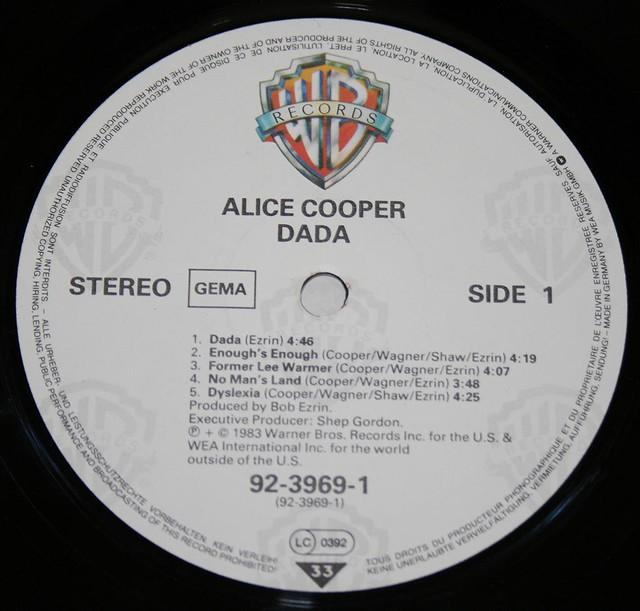 """ALICE COOPER DADA 12"""" LP"""