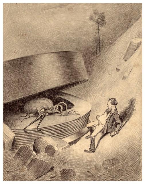 010-La Guerre des Mondes illustreè par Alvim Corrêa-1906- Heritage Auctions