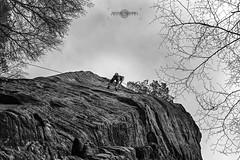 Climbing near Berdorf