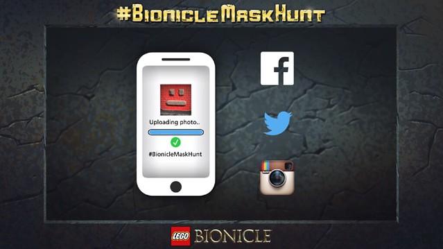 Concorso LEGO Bionicle Mask Hunt
