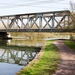 Railway bridge over the River Lea