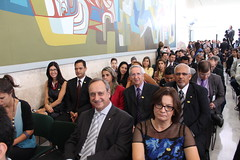 A cerimônia de posse do Ministro da Educação, Renato Janine Ribeiro, 06/04/2015, no Palácio do Planalto.