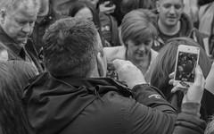 Nicola Sturgeon at Bairns not Bombs rally, April 2015