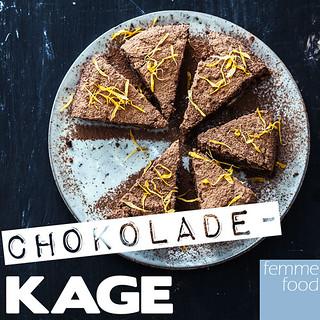 Chokoladekage uden gluten