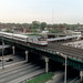 Amtrak train from CTA Englewood L May 2001 by jsmatlak