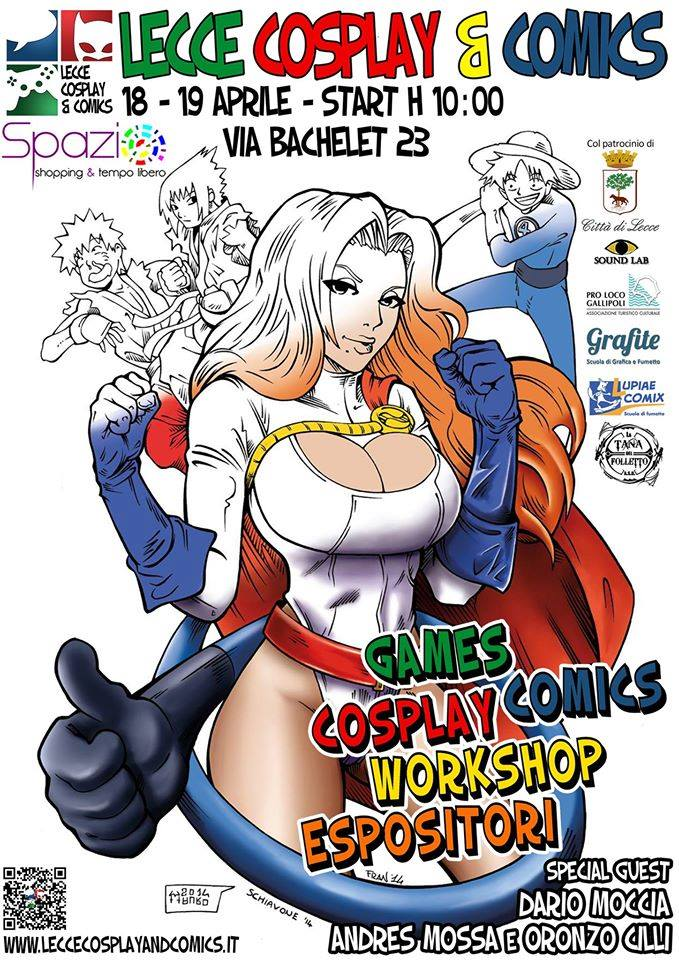 cosplay lecce