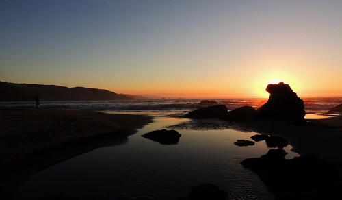 chile atardecer playa cordilleradelacosta chilecentral manquemapu