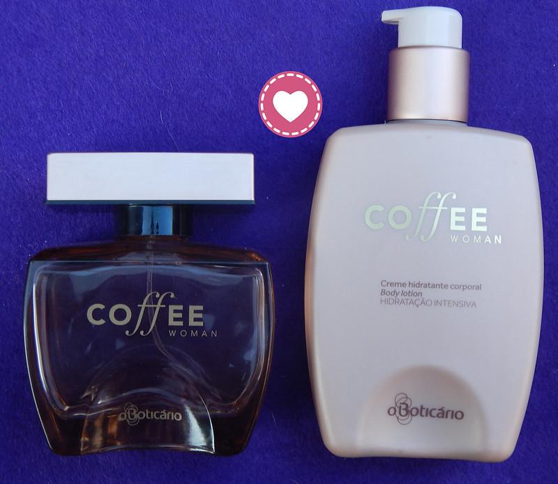 Perfume e creme corporal Coffee de O Boticário