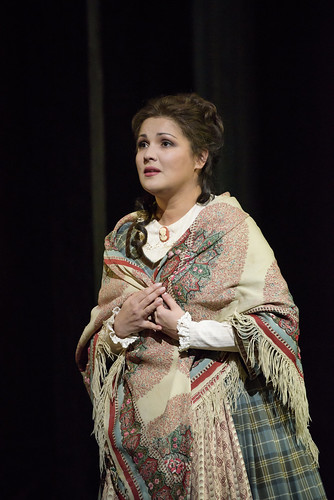 Anna Netrebko in action.