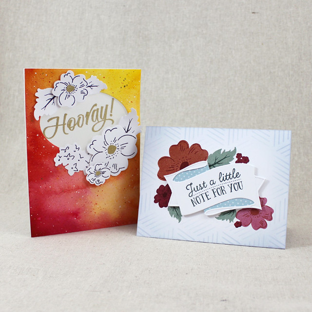 Floral Sketches Cards