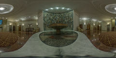 Fountain at Hotel Moskva
