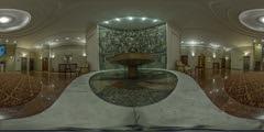 Fountain at Hotel Moskva