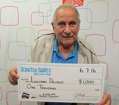 Luciano Delago - $1,000 $200,000 Jewel Jackpot