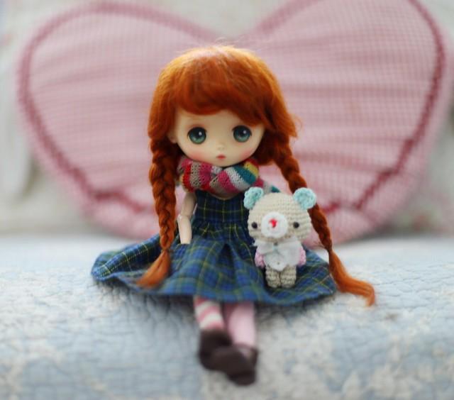 Anna and teddy 🐻