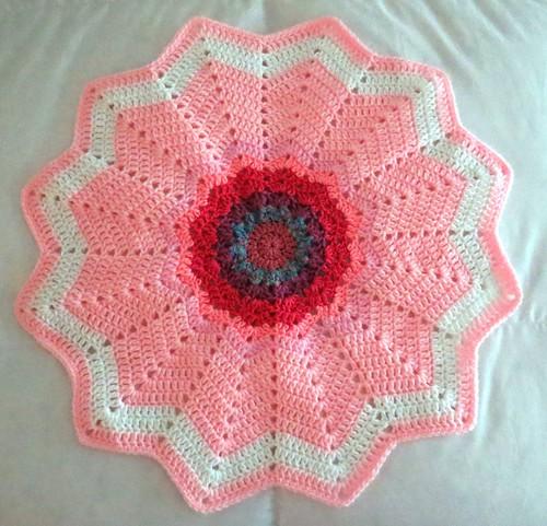 Baby Round Ripple Blankets