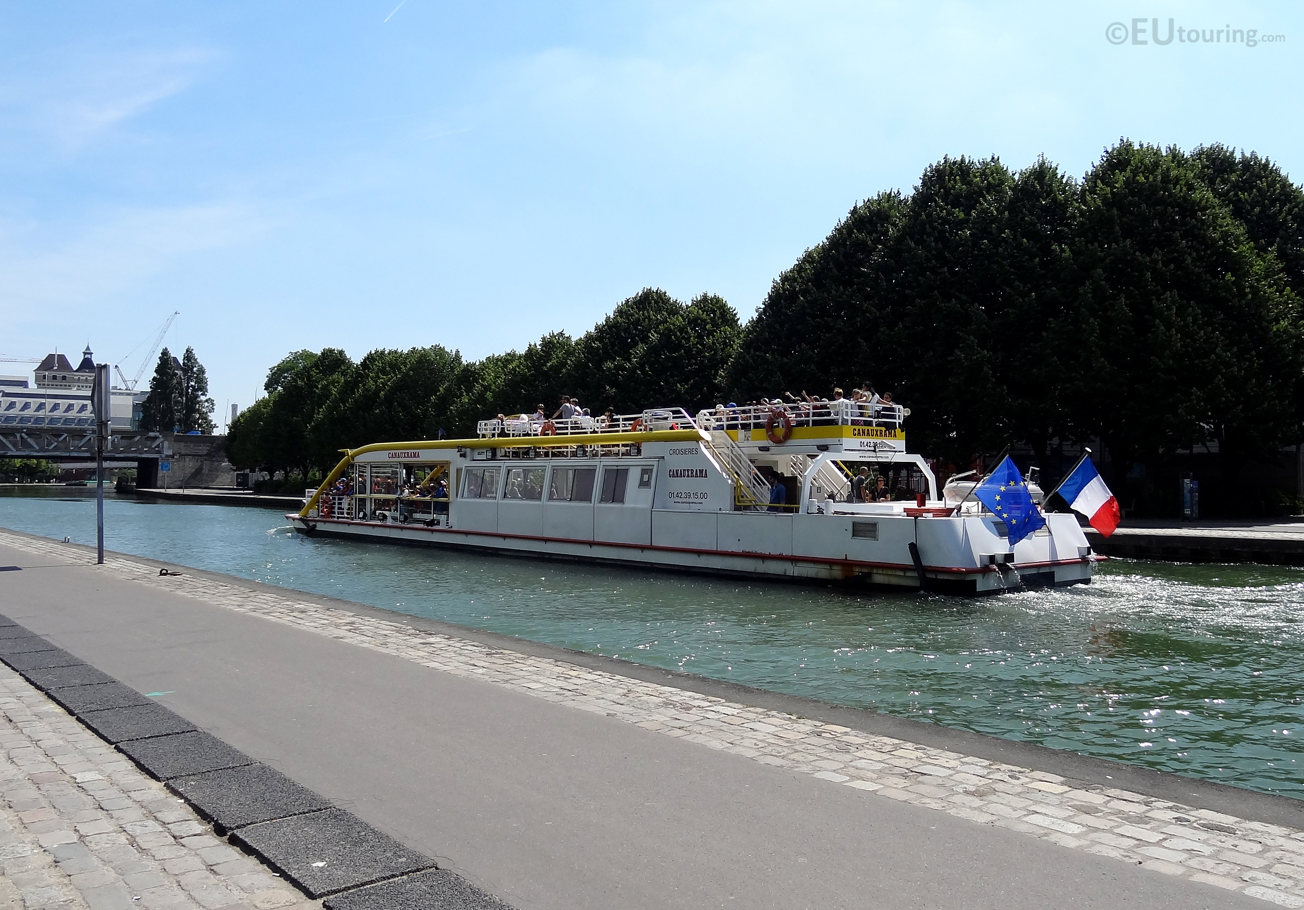 Canauxarama along the Canal de l'Ourcq