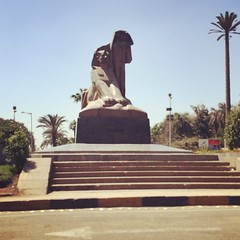 "Egypt's Renaissance "" Nahdet Misr"" statue made by Mahmoud Mokhtar in #Giza #Egypt  #Blogger #Photo"