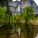 Yosemite Falls in Evening Light by R. Kent Squires