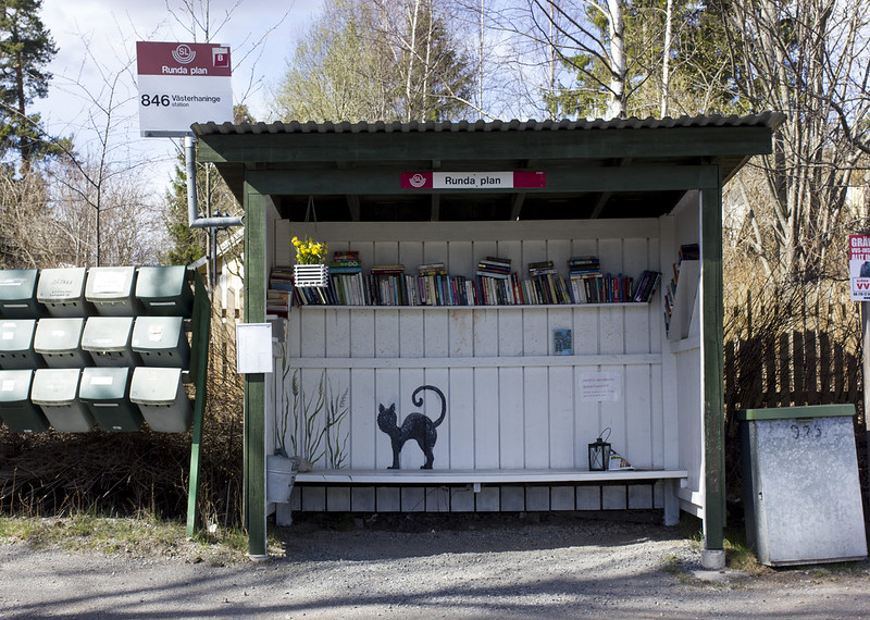 Bus Stop With A Difference
