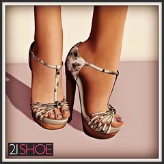 21 Shoe YS & YS Rapallo Pure & B&W. 2 for 1 !