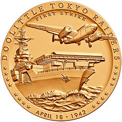 Doolittle Tokyo Raiders Congressional Gold Medal obverse