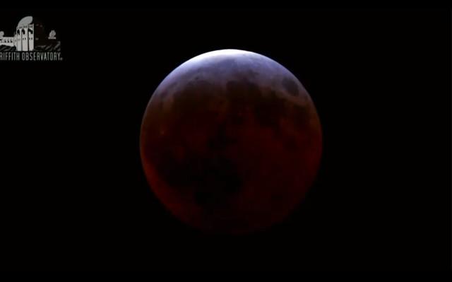 Lunar Eclipse from April 4, 2015