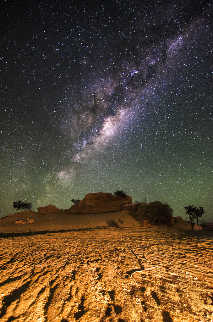 Milky Way - Pinnacles, Western Australia