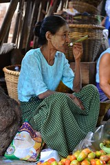 Old Lady of Myanmar