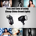 Pros and Cons of using Cheap Lights by L S G