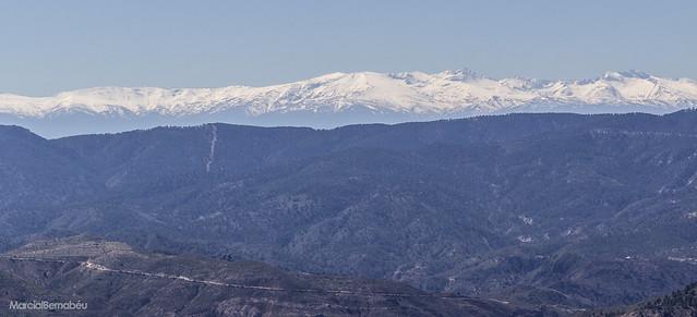 Spain - Jaen - Sierra de Cazorla - View of Sierra Nevada (Granada)
