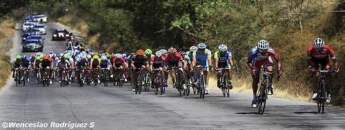 Anuncia policia cierre de vialidades por ciclistas de la Vuelta México 2015